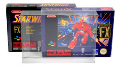 GP6 SNES / N64 Game Box Protectors